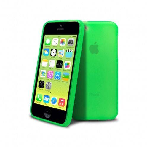 Carcasa iPhone 5C Frozen Ice Extra Fina Verde