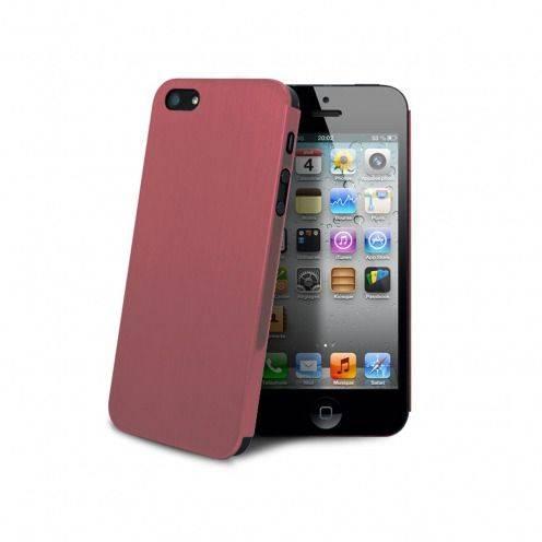 Ultra-delgado rosa Casco de metal cepillado Acero para el iPhone 5 - 5S