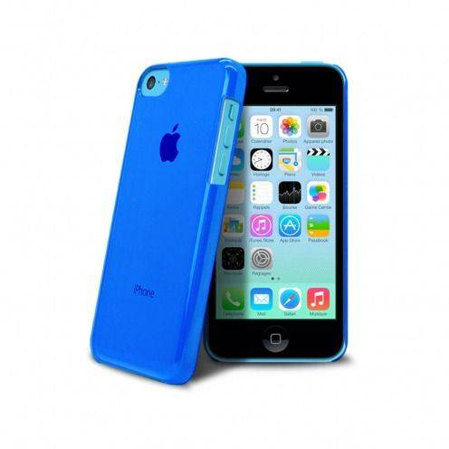 Carcasa Crystal para iPhone 5C Azul