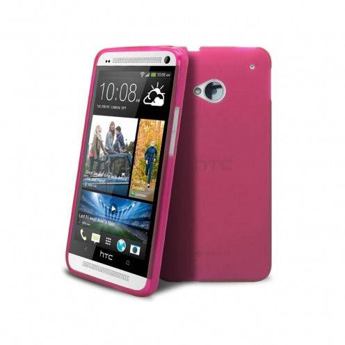 Carcasa HTC One Frozen Ice Extra Fina Rosa