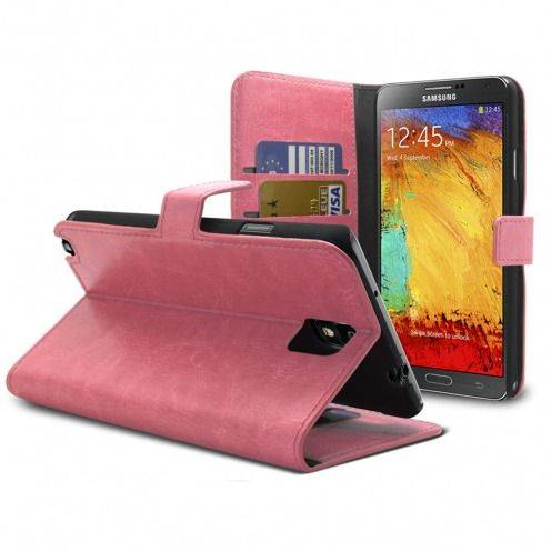 Smart Cover Samsung Galaxy Note 3 rosa cuero marmolado