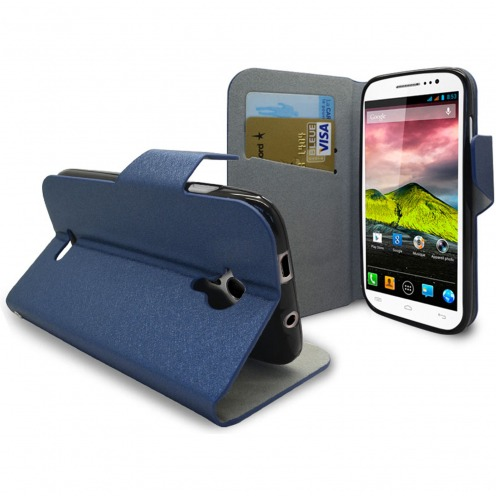 Smart Cover Wiko Cink Five Papyrus Azul