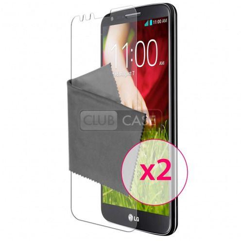 Películas de Protección LG G2 Clubcase ® HD Lote de 2