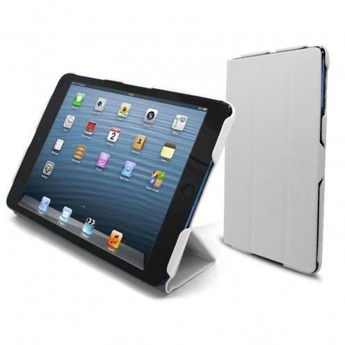 Casco iPad Mini ® Ultra ligero Smart Cover Stand Blanco