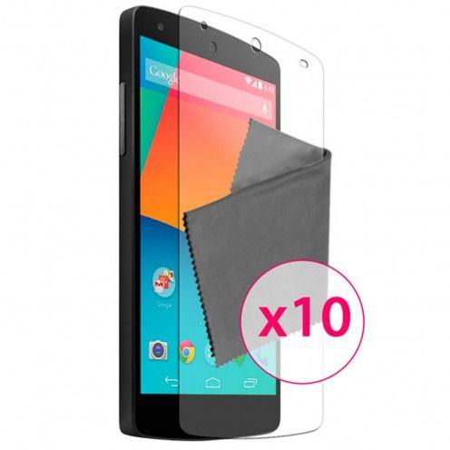 Películas de Protección Google Nexus 5 de LG Clubcase ® HQ Lote de 10