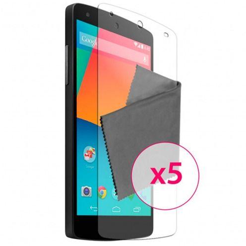 Películas de protección Google Nexus 5 por LG Clubcase ® HQ 5