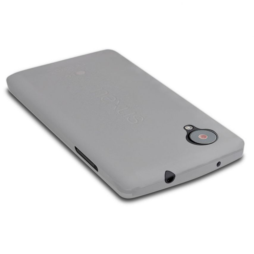Funda Ultra fino 0.3mm Frost Google Nexus 5 transparente