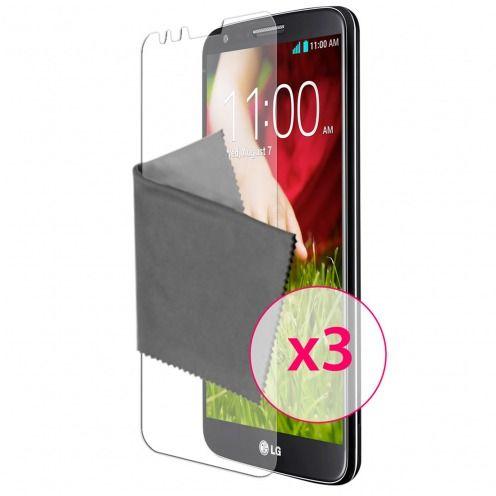 Películas de protección antideslumbrante LG G2 ® Clubcase set de 3