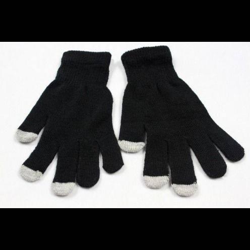 iTouch - guantes táctiles iPhone especial negro - Talla S