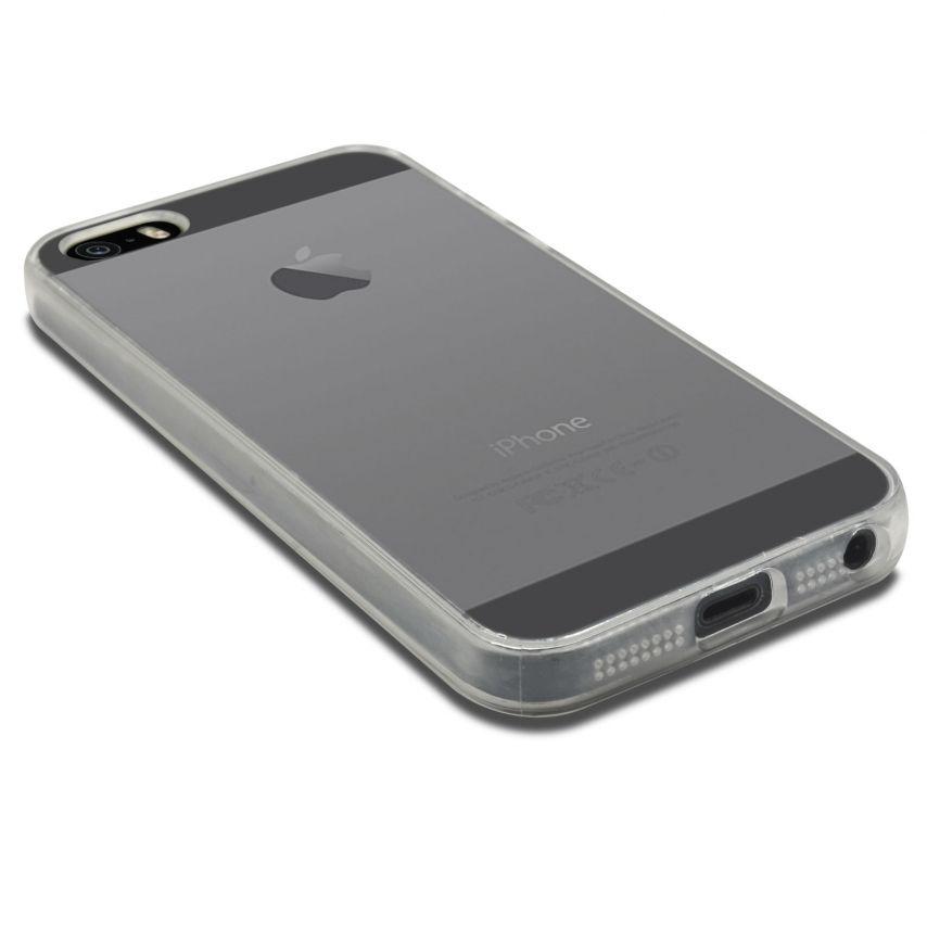 "Casco Flexible ""Crystal Clear"" para iPhone 5/5S"