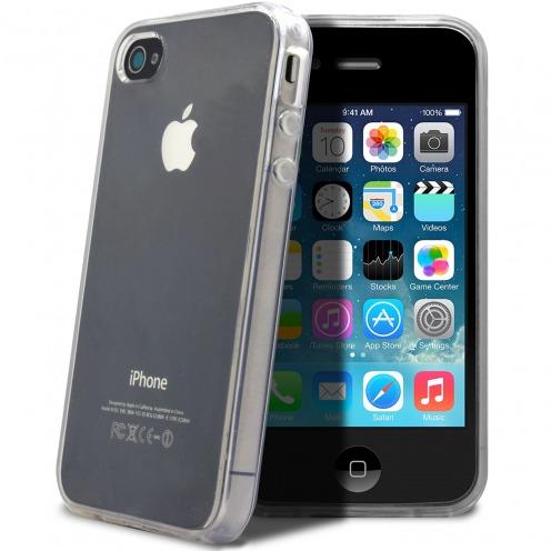 "Casco Flexible ""Crystal Clear"" para iPhone 4/4S"