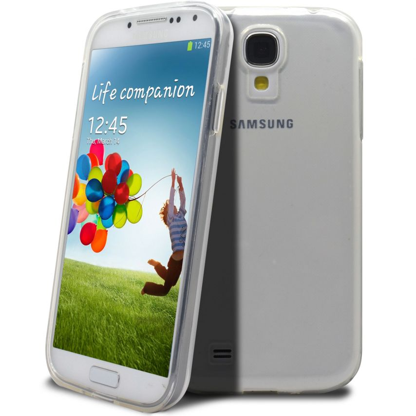 "Casco Flexible ""Crystal Clear"" para Samsung Galaxy S4"