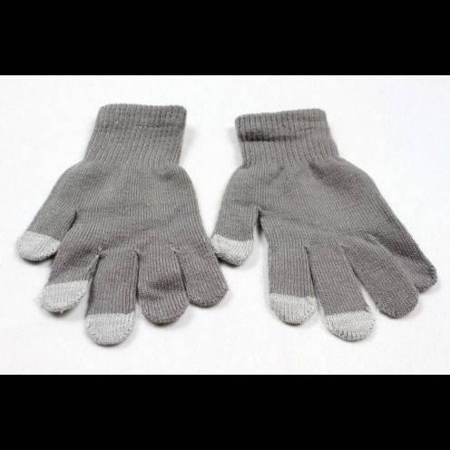 iTouch - tamaño de guantes táctiles iPhone especial gris S