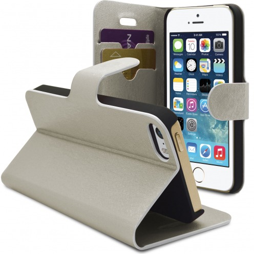 Smart Cover iPhone 5/5S Papyrus Plateado
