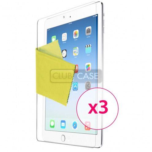 Películas protectoras anti huellas dactilares iPad Air ® de Clubcase 3-Pack