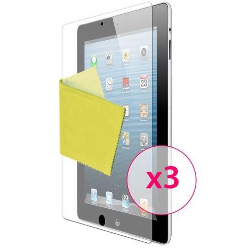 Películas de protección antideslumbrante iPad 2/3 y retina ® Clubcase set de 3