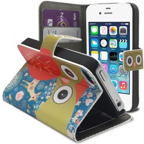 Smart Cover iPhone 4/4S modelo del Búho y cierva