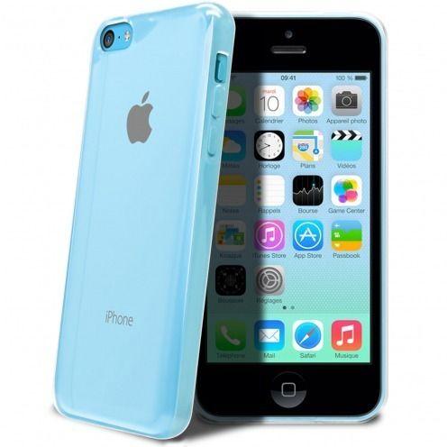 "Casco Flexible ""Crystal Clear"" para iPhone 5C"