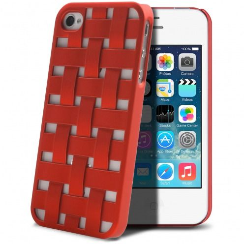 Carcasa iPhone 4/4S X-Doria Engage Form Roja