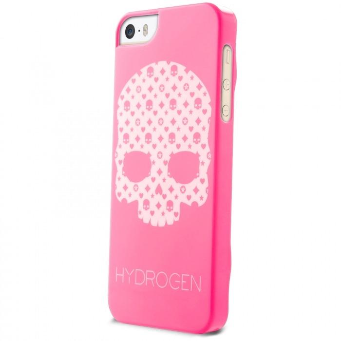 cf007becb86 Carcasa Hydrogen® LV Skull Fosforescente Rosa iPhone 5/5S/SE ...