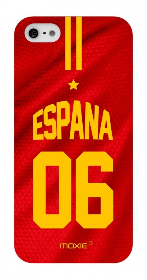 Funda iPhone 5 / 5S / SE Limitada Edicion Copa Del Mundo 2014 Espana
