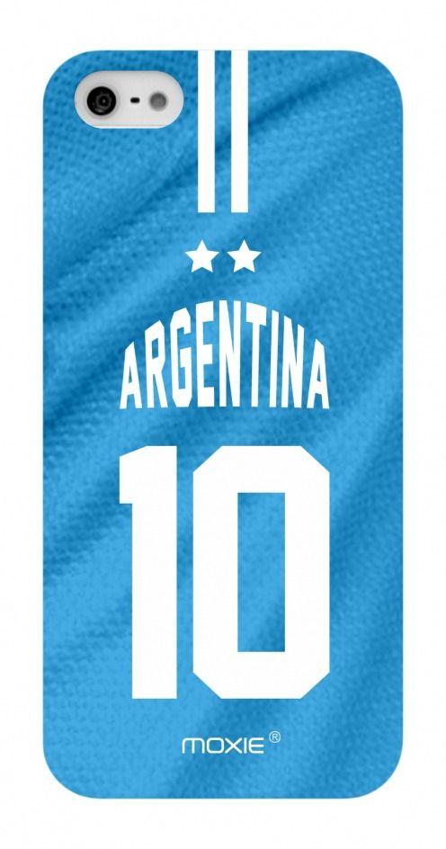 Funda iPhone 5 / 5S / SE Limitada Edicion Copa Del Mundo 2014 Argentina