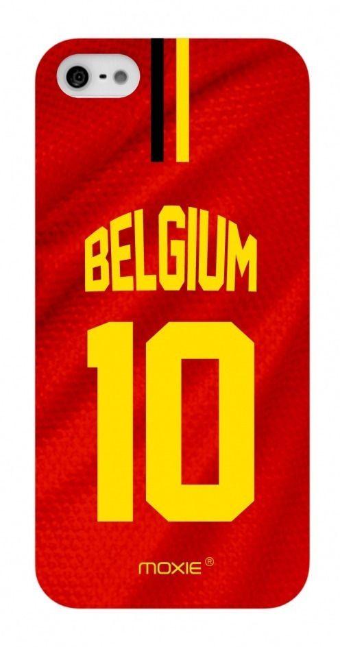 Funda iPhone 5 / 5S / SE Limitada Edicion Copa Del Mundo 2014 Bélgica