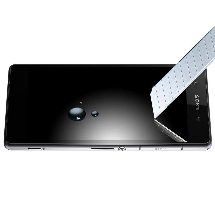 Protección de pantalla de vidrio templado OTAO X-Lambo 9H para Sony Xperia Z2