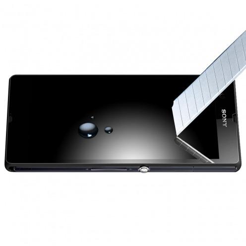 Protección de pantalla de vidrio templado OTAO X-Lambo 9H para Sony Xperia Z