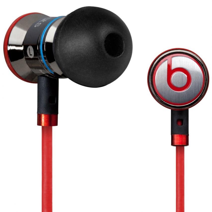 Auriculares / manos libres In Ear Beats Audio® Ibeats By Dre negro/plata/rojo