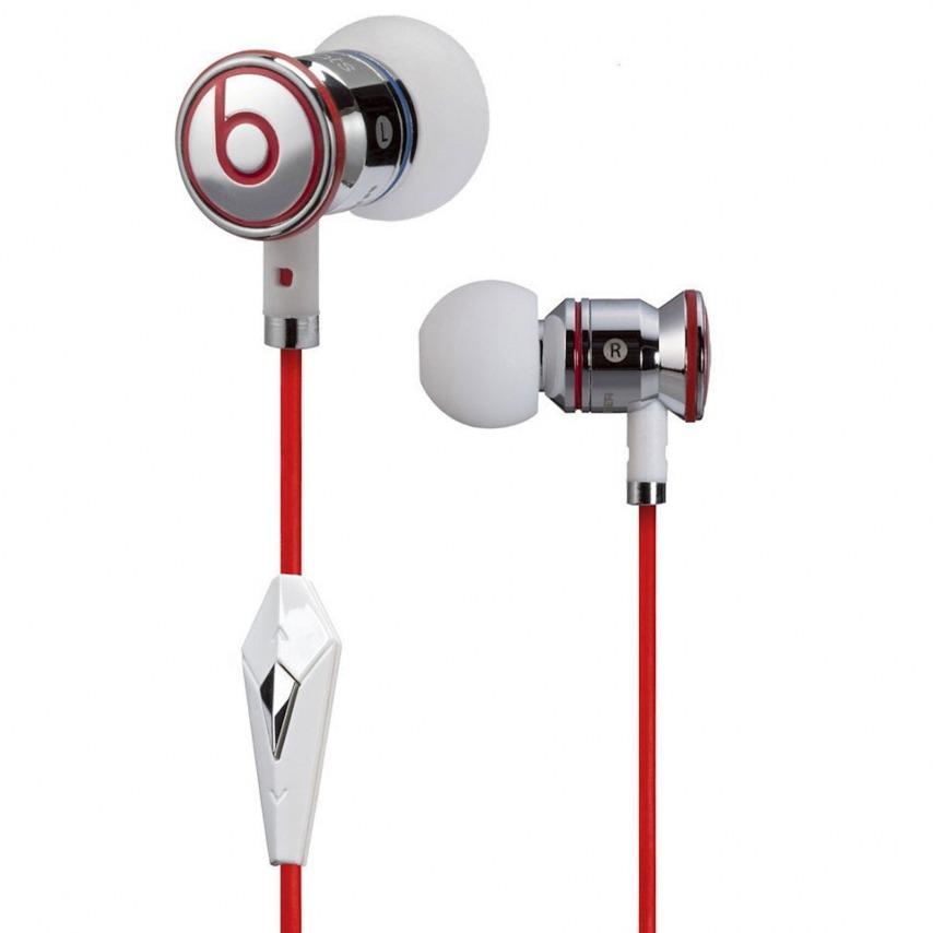Auriculares / manos libres In Ear Beats Audio® Ibeats By Dre blanco/plata/rojo
