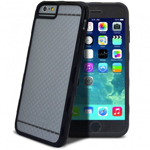 Carcasa iPhone 6 X-Doria® Defense 720º Transparente/Negro