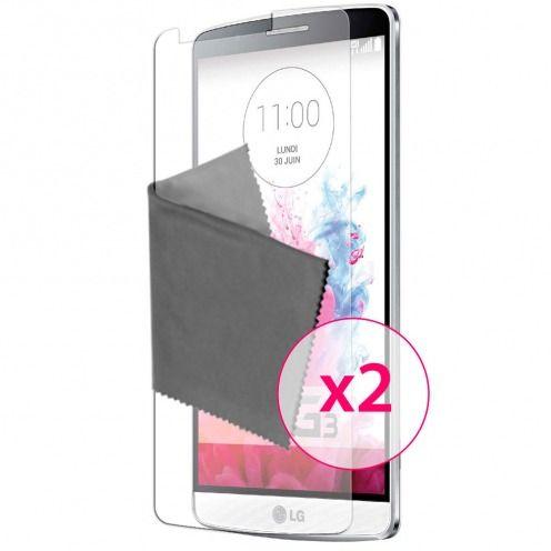 Películas de protección antideslumbrante LG G3 ® Clubcase set de 2