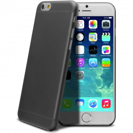 839c96166b0 ... 6s Frozen Ice Extra Fina Negro opaco. Vista rápida. Carcasa Ultra Fina  0.3 mm Frost iPhone 6 Negra