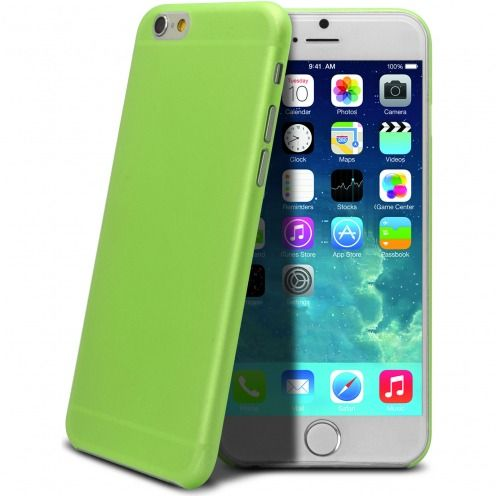 Carcasa Ultra Fina 0.3 mm Frost iPhone 6 Verde