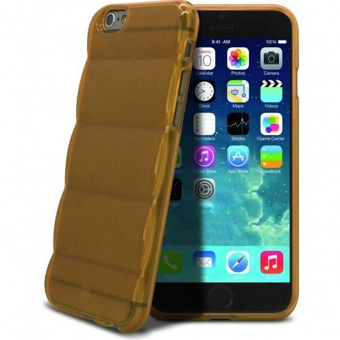 Carcasa iPhone 6 Gel Air Bump Grip Extra Fina Champán