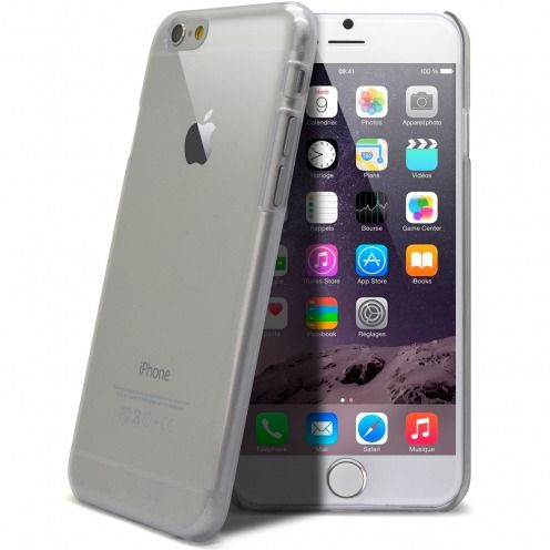 Carcasa Crystal Extra Fina iPhone 6 Plus Transparente