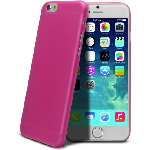 Carcasa Ultra Fina 0.3 mm Frost iPhone 6 Plus Rosa