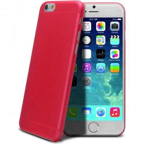 Carcasa Ultra Fina 0.3 mm Frost iPhone 6 Plus Roja