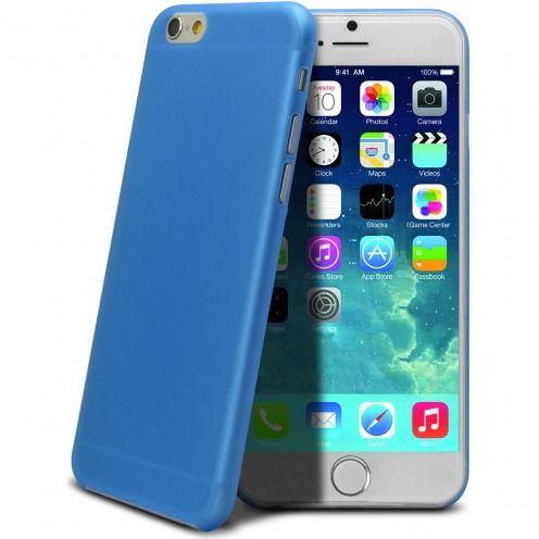 Carcasa Ultra Fina 0.3 mm Frost iPhone 6 Plus Azul
