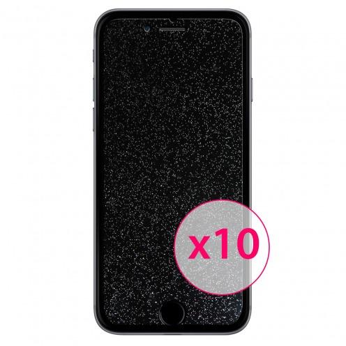 10 protectores de pantalla DIAMANTE HQ para iPhone 6