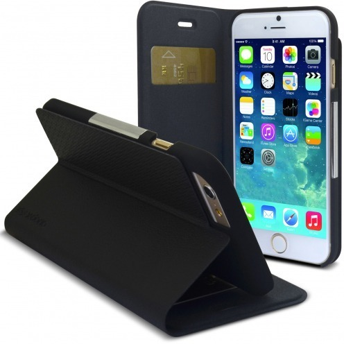Smart Funda Dash Folio One X-Doria® Negro para iPhone 6 Plus
