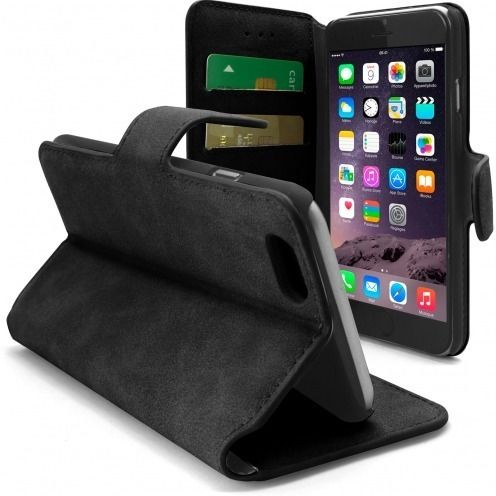Smart Cover Folio iPhone 6 Plus piel de melocotón Zarzamora