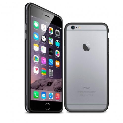 Carcasa Bumper iPhone 6 HQ Negro / Transparente