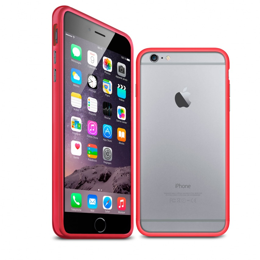 iphone 6s plus carcasa roja
