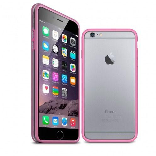 Carcasa Bumper iPhone 6 HQ Roso / Transparente