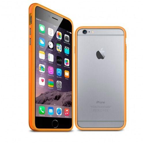 Carcasa Bumper iPhone 6 Plus HQ Naranja