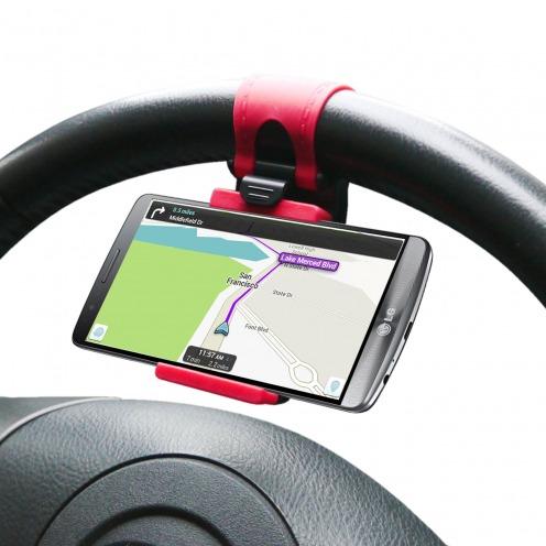Mini Soporte coche para rueda Steerhold iPhone 6 - Universal