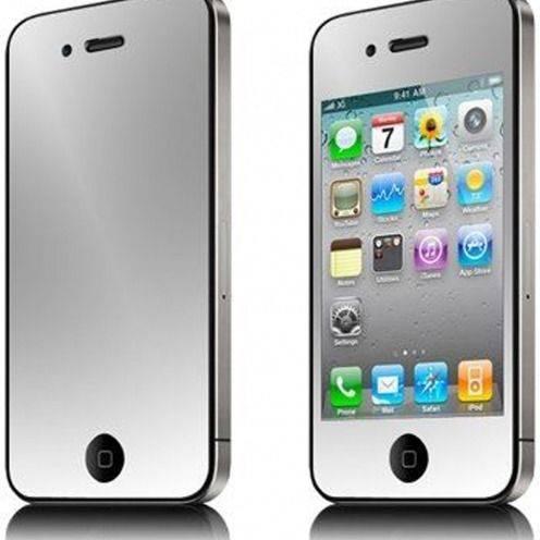 Pack de 6 protectores de pantalla (3 Delanteras + 3 Traseras) Espejo para iPhone 4 /4S