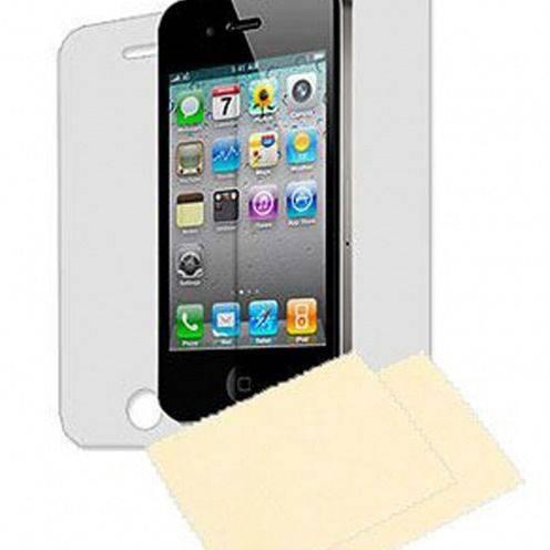 Pack de 6 protectores de pantalla (3 Delanteras + 3 Traseras) HD para iPhone 4 /4S